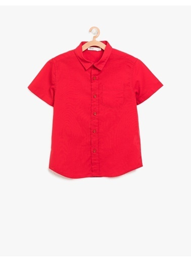 Koton Kids Koton Kırmızı Gömlek Kırmızı